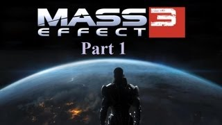 Mass Effect 3 Walkthrough Part 1 PS3