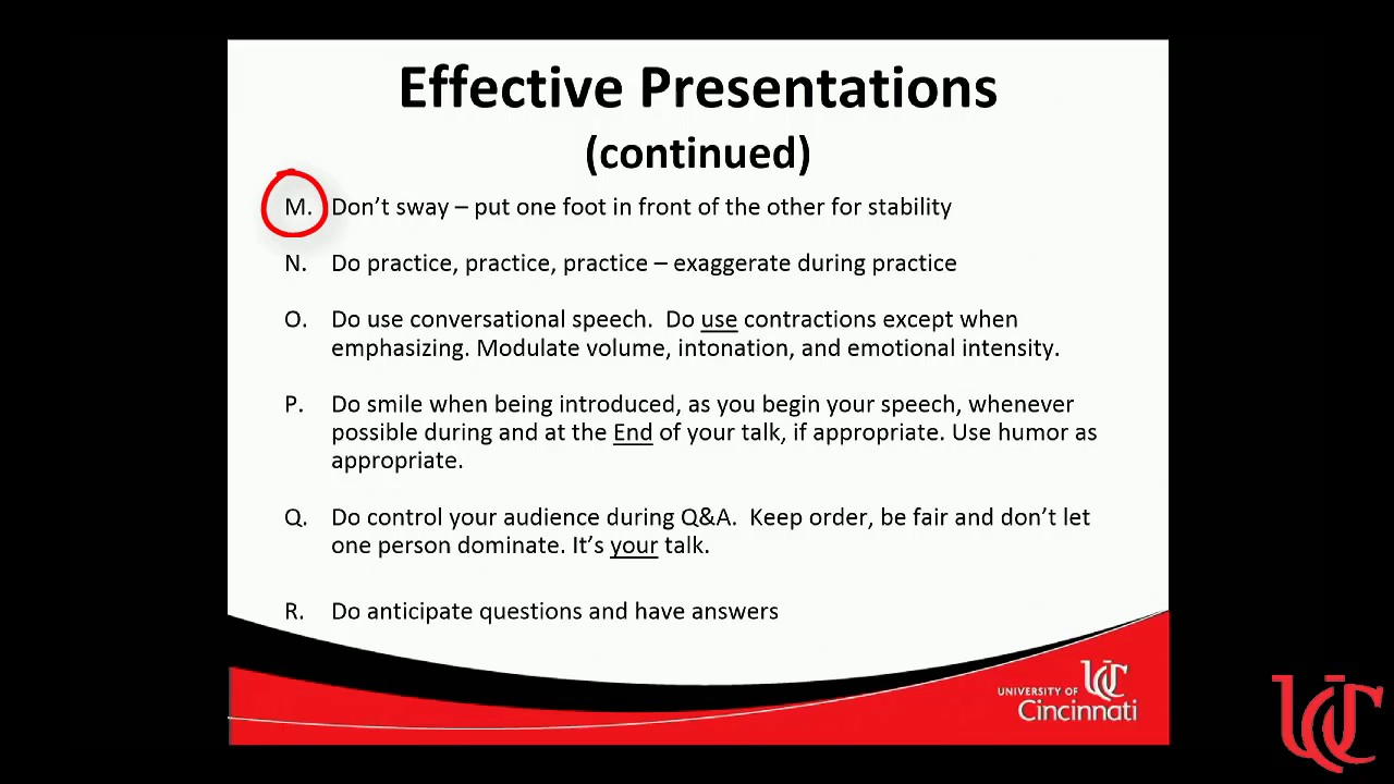 communicating your science how to give a scientific presentation