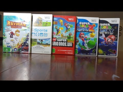 how to add more games to my nintendo wii