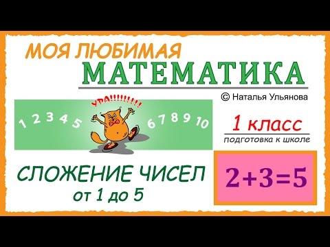 Математика 1 класс. 14 октября. Контрольная работа по сложению и вычитанию