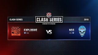 NSS v.ExplosiveTeam13mm. Clash Series: Final