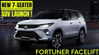 Upcoming 7 seater suv - Upcoming 7Seater Suv cars in india 2020 - Premium 7 seater suv -Fortuner2020