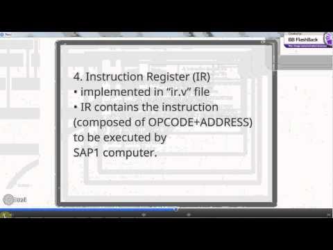 SAP-1 Architecture (Computer Architecture Project)