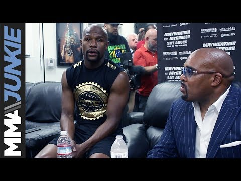 Floyd Mayweather says Conor McGregor victorious if he goes the distance