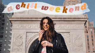 a chill weekend with me in nyc