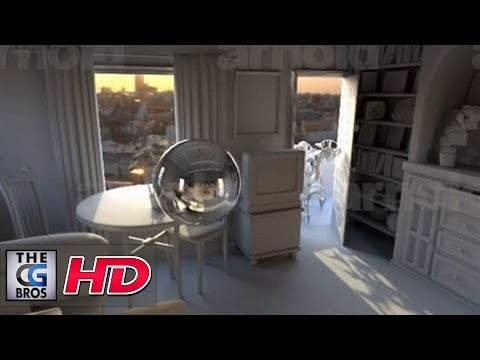 "CGI Tutorial HD: ""Arnold Maya Rendering - Basic Interior Sunlight""  by - Jon Tojek"