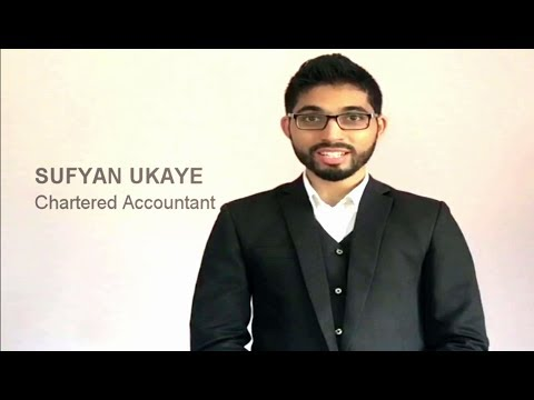 Video CV/Resume of Chartered Accountant (CA) for jobs in finance or Audit