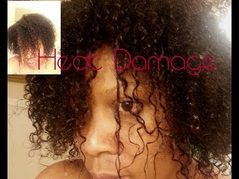 The Cure For My Heat Damaged Natural Hair Part I 37
