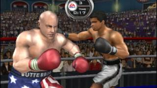 "Muhammad Ali vs Eric ""Butterbean"" Esch - Epic Fight! Knockout Kings 2003"