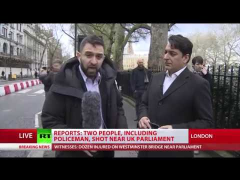 'People running for dear life': RT reports LIVE from Westminster shooting