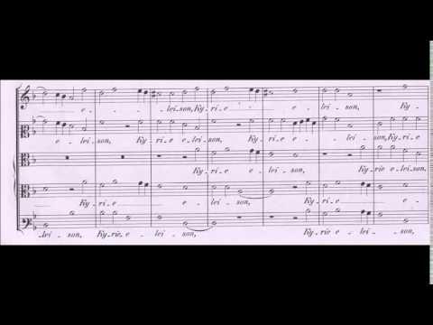 Palestrina - Missa Nigra sum - Kyrie 1