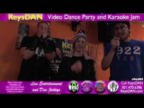 Gauge Campbell Aka Bart The Viking, Ally And Cam All The Right Moves {#Karaoke By @KeysDAN}