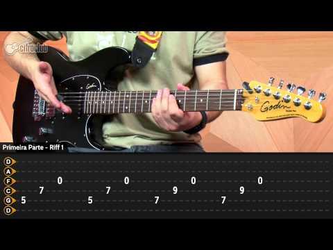 Adam's Song - Blink 182 (aula de guitarra)