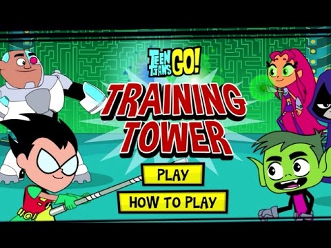 Teen Titans Go! – TRAINING TOWER (Cartoon Network Games)