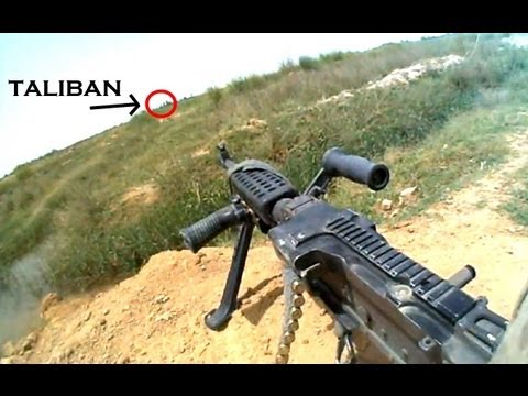 M240B HELMET CAM AMBUSH