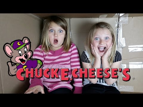 MAILED OURSELVES TO CHUCK E CHEESE AND IT WORKED! (skit)