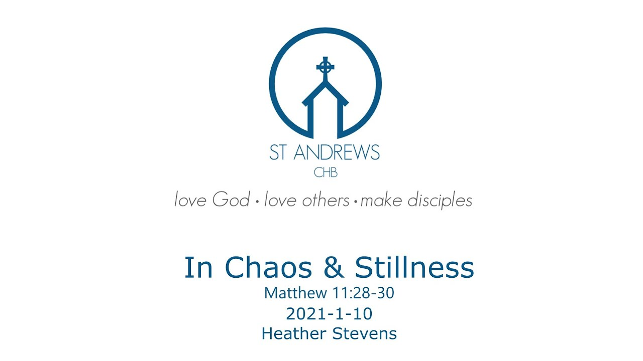 In Chaos and Stillness