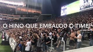 Jogadores do timão cantam SANGUE NO OLHO em pleno gramado do Allianz Parque! thumbnail