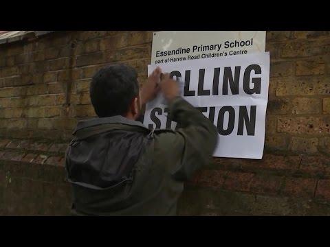 Britain voting on Brexit