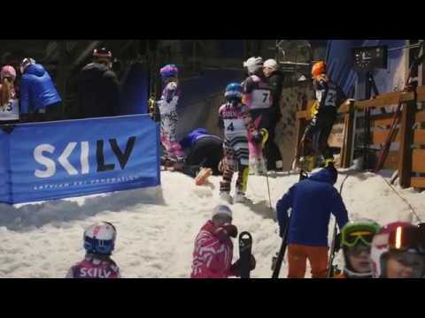Baltic Cup 2018 youth slalom