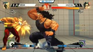 USF4 EVO 2015 Bochan (SAGAT) vs Alex Valle (HUGO)