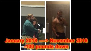 MY 100 POUND WEIGHT LOSS JOURNEY/ Before and After [Photos and Videos]