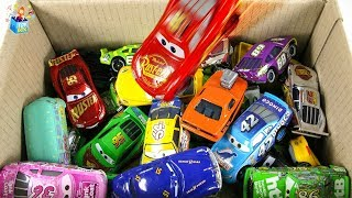 Learning Color Specia disney pixar cars city Vehicle Box Play toys funny video for kids