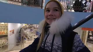11.11 Шопимся. Ищем искусственый снег. Строительный рынок. Бубльгум. Якутск.