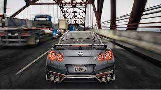 в–є GTA 5 8K REAL L FE Graphics вњЄ Nissan GTR 2020 BRUTAL SOUND
