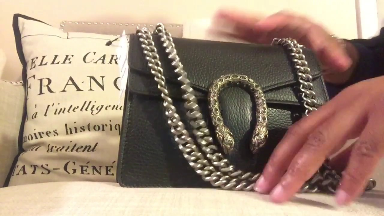 3416de6366c GUCCI DIONYSUS MINI REVEAL WHAT FITS - YouTube