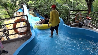 Monsoon Buster Water Slide at Wet World Water Park