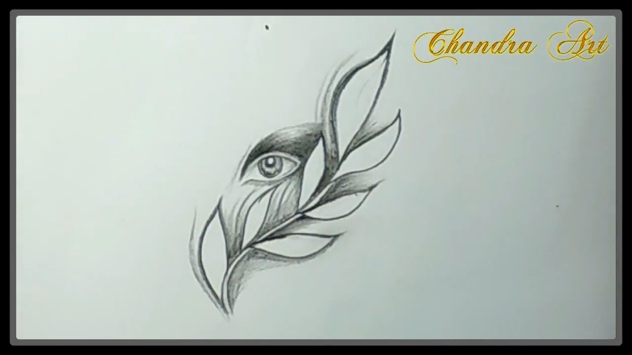 Cool sketches pencil drawing beautiful eye easy