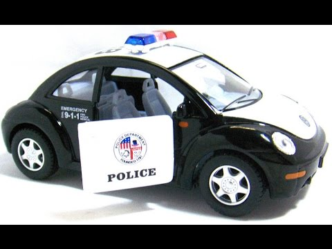 voiture de police volkswagen jouet pour les enfants youtube. Black Bedroom Furniture Sets. Home Design Ideas