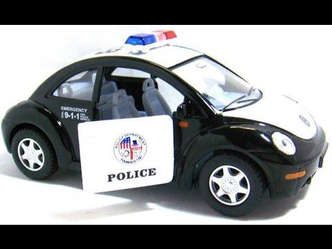 voiture de police volkswagen jouet pour les enfants youtube. Black Bedroom Furniture Sets. Home Design Ideas
