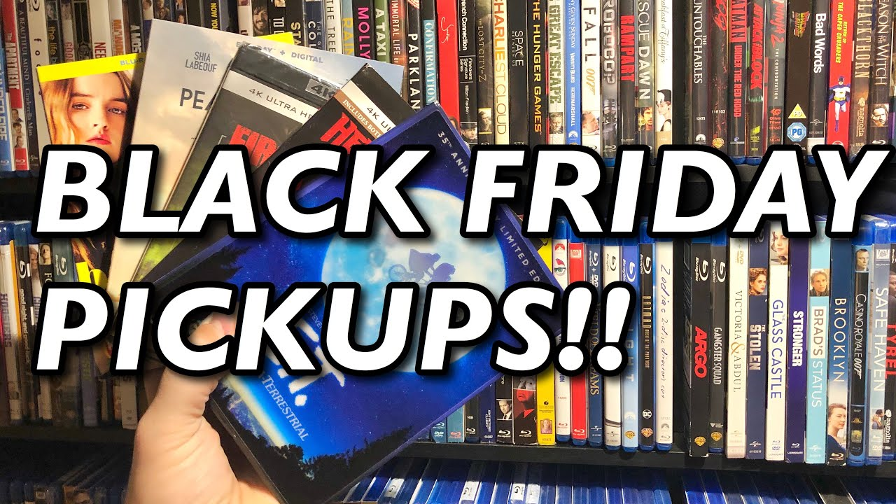 4k Movies Under 10 Black Friday 2019 Blu Ray Pickups Youtube