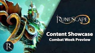 RuneScape Content Showcase (Jan 2019) - Combat Week Preview