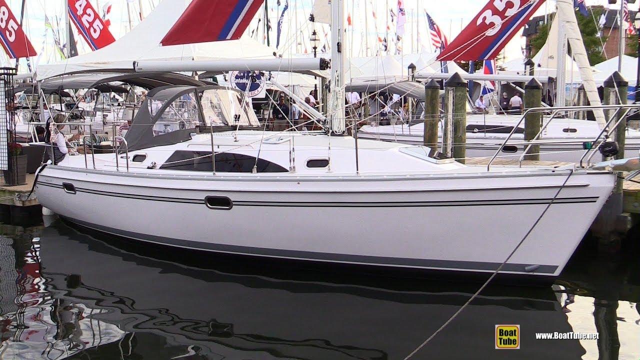 2017 Catalina 315 Sailing Yacht - Deck and Interior Walkaround - 2017  Annapolis Sail Boat Show