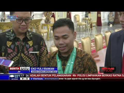 Peraih 3 Medali Emas Angkat Besi Dapat Bonus 250 Juta dari Presiden Mp3
