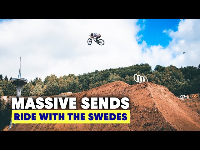 Going Big at the Audi Nines MTB Freeride Event | Ride With The Swedes S2E3