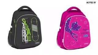 Обзор школьного каркасного рюкзака ???? #Kite #Education K19-731M