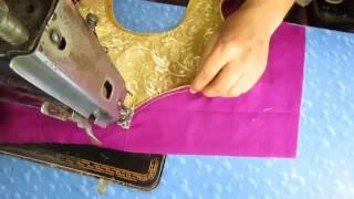 Prasanta Blouse Design V /Make Fashion Tutorial part 4 of 4