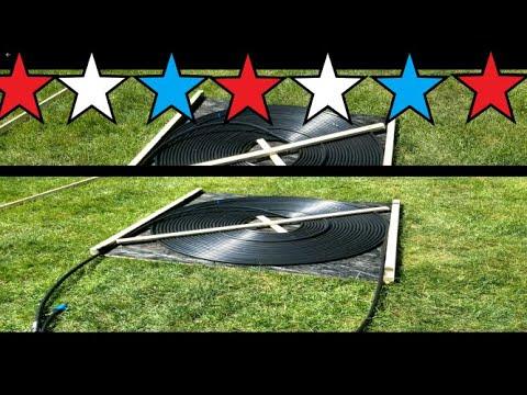 Best DIY Solar Pool Heater – under $25