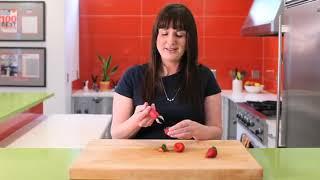 Amazoncom Chefn StemGem Strawberry Huller Strawberry Huller Kitchen