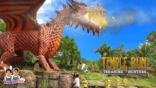 Dinosaurs ซ่อนแอบไดโนเสาร์ตัวใหญ่!! ช่วยไดโนเสาร์ทีเร็ก สมบัติมังกรไฟ ผจญภัยโลกล้านปี - วินริว สไมล์