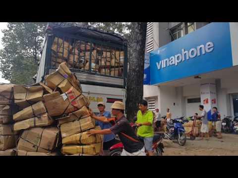 Lý Thái Tổ, Phở Tàu Bay, Chợ Hoa Hồ Thị Kỷ,Sài Gòn 27 tháng Chạp, Tết Đinh Dậu