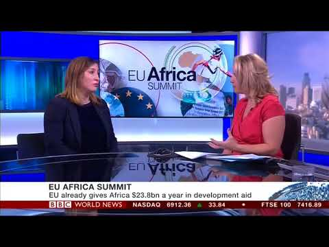 FSG's Anna Rosenberg on BBC World News - EU Africa Summit