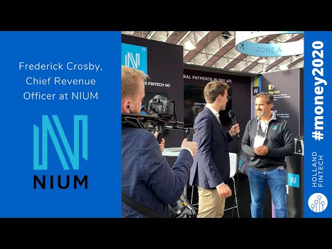 Nium Interview Preview with Holland FinTech at Money20/20
