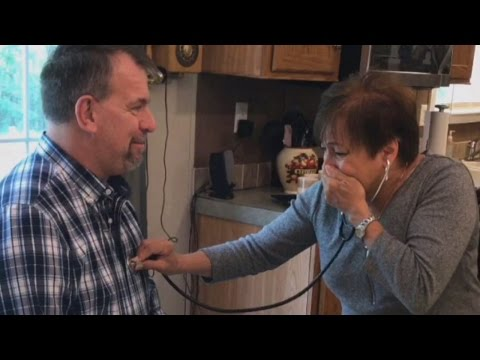 Watch Mom Listen to Son's Heart Inside Another Man's Chest