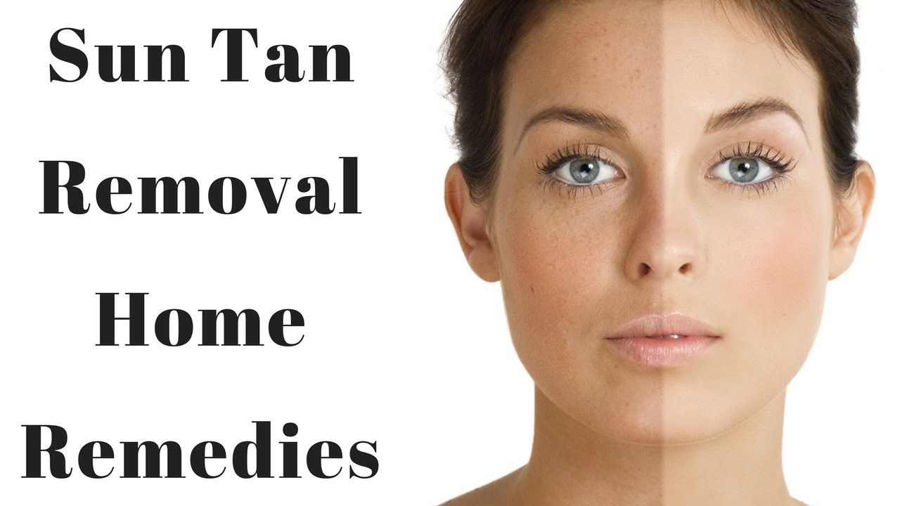 How To Remove Tan Naturally At Home