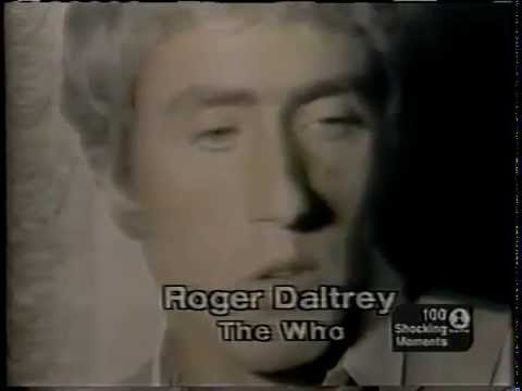 VH1 100 Shocking Rock & Roll Moments THE WHO 5/2001